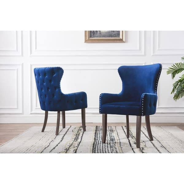 Wondrous Shop Best Quality Furniture Button Tufts Wingback Accent Gamerscity Chair Design For Home Gamerscityorg