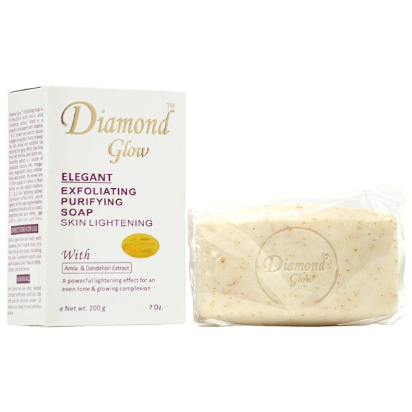 Diamond Glow Elegant Exfoliating 7-ounce Purifying Soap. Opens flyout.
