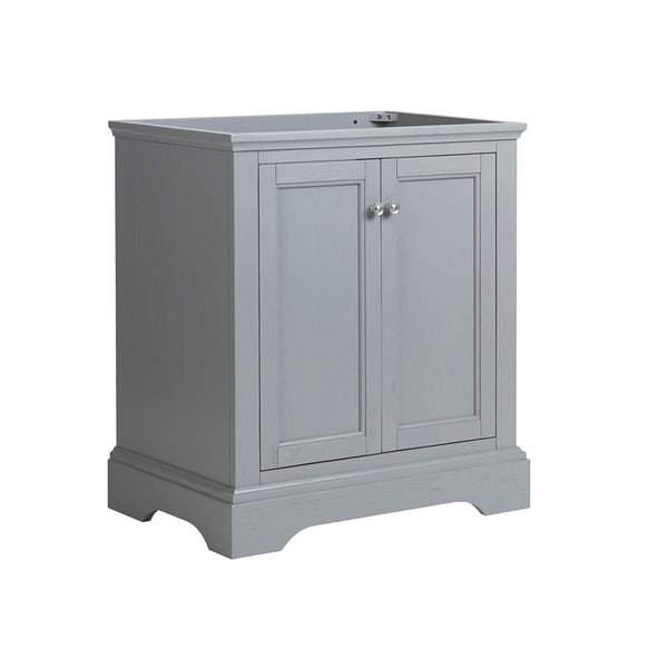 "Dorian Green Counter Top Kitchens: Shop Fresca Windsor 30"" Gray Textured Traditional Bathroom"