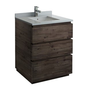 "Fresca Formosa 30"" Floor Standing Modern Bathroom Cabinet w/ Top & Sink"