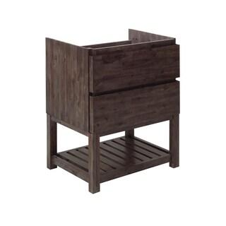 "Fresca Formosa 29"" Floor Standing Open Bottom Modern Bathroom Cabinet"