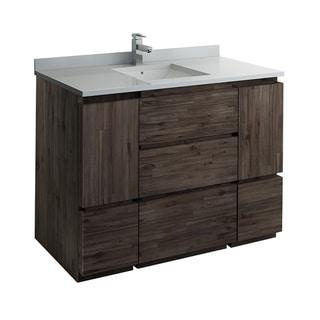 "Fresca Formosa 47"" Floor Standing Modern Bathroom Cabinet"
