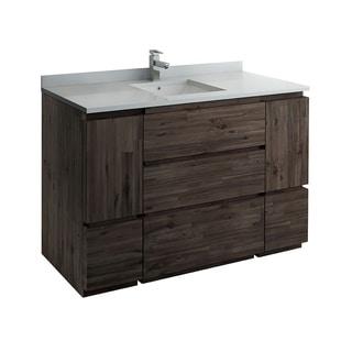 "Fresca Formosa 53"" Floor Standing Modern Bathroom Cabinet"