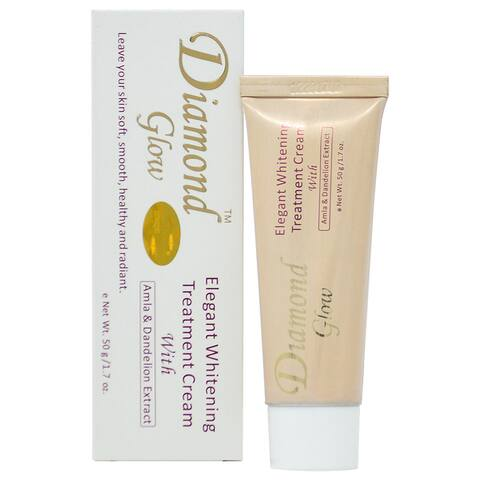 Diamond Glow Elegant Whitening Treatment 1.7-ounce Cream