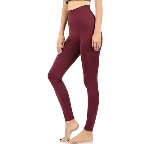 JED Women's Tummy Control Seamless Leggings