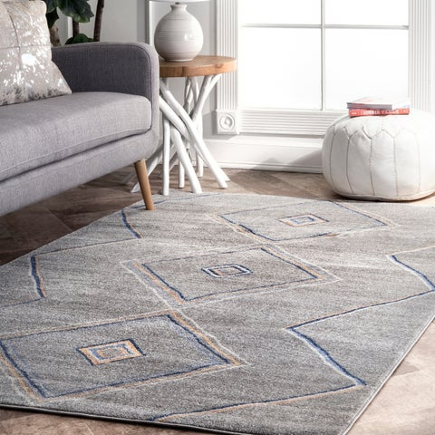 Carson Carrington Carrowdore Casual Contemporary Moroccan Mountain Area Rug