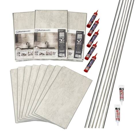 DumaWall Wind Gust Shower Kit