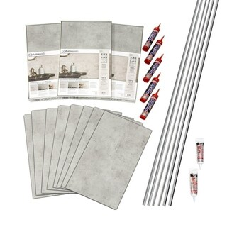 DumaWall Frost Nickel Shower Kit