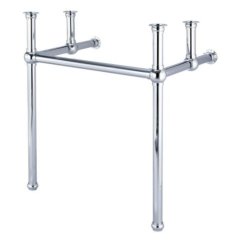 Embassy 30 Inch Wide Single Wash Stand and P-Trap included