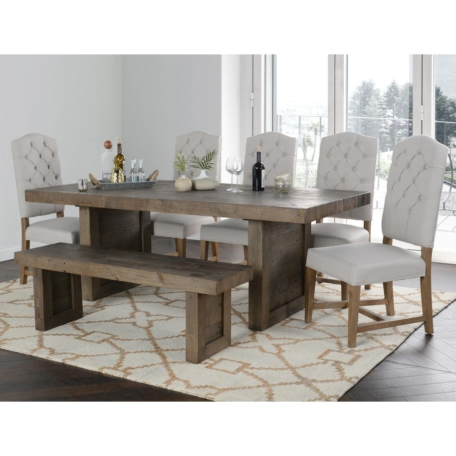 Carbon Loft Bluford Reclaimed Pine Dining Table