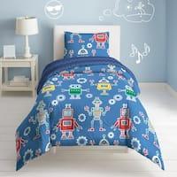 Dream Factory Robots and Bits 3-piece Cotton Comforter Set