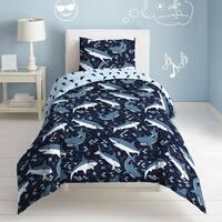 Dream Factory Sharks 3-piece Cotton Comforter Set
