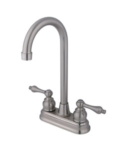Thumbnail 1, Victorian Satin Nickel Bar Faucet.