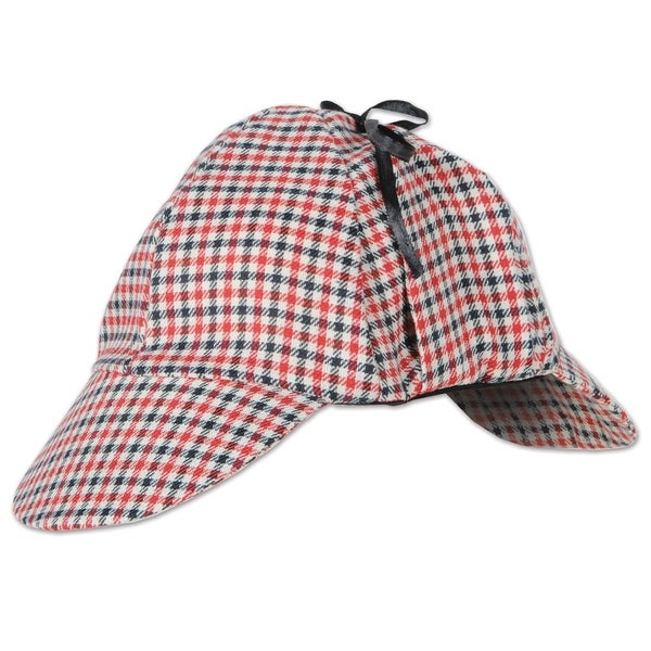 Beistle Sherlock Holmes Costume Party Deerstalker Hat (Set of 12)