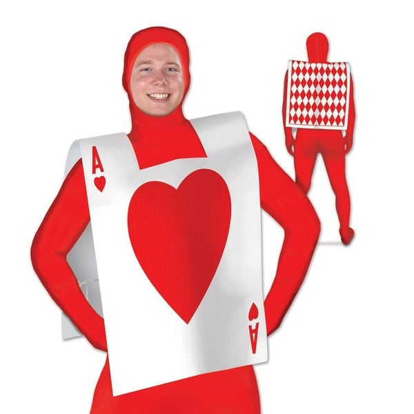 Beistle Plastic Alice in Wonderland Costume Party Card Suit Vest (Pack of 12)