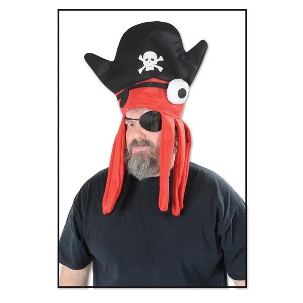 Beistle Felt Costume Party Pirate Squid Hat (Set of 12)