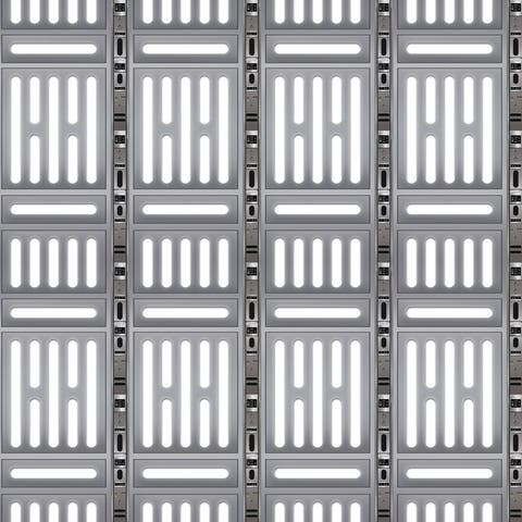 Beistle 4' x 30' Insta Theme Space Station Party Backdrop - 6 Pack (1/Pkg)