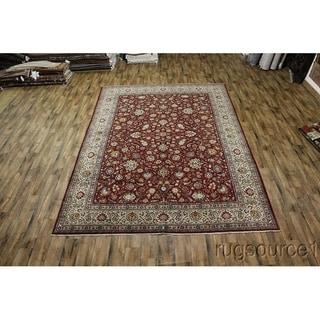 """Vintage Kashan Oriental Handmade Wool Persian Area Rug - 14'3"""" x 10'2"""""""