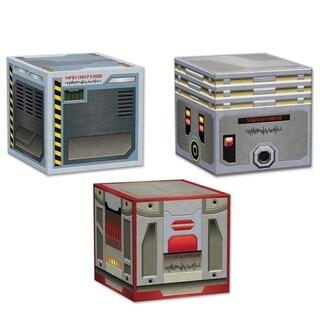 """Beistle 3.25"""" x 3.25"""" Smuggler's Crates Novelty Favor Boxes - 12 Pack (3/Pkg)"""