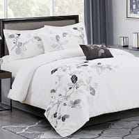 Sandra Venditti- Josephine 5 Piece Embroidery Cotton Comforter Set