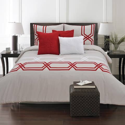 Adrien Lewis- Diamond 6 Piece Cotton Comforter Set