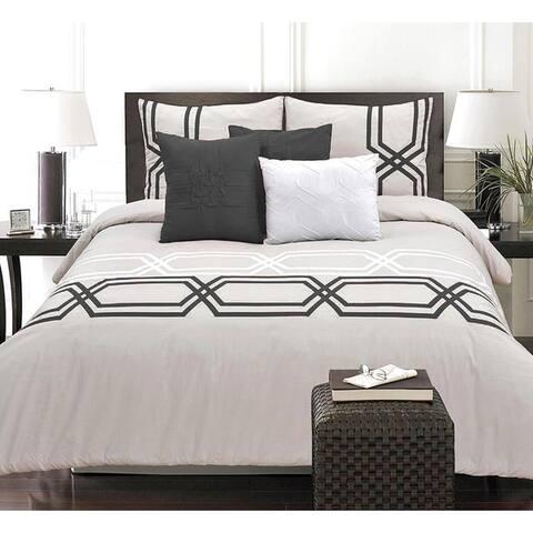 Adrien Lewis- Diamond 6 Piece Cotton Comforter Set