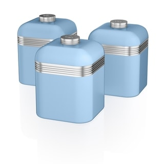 Retro 3 Cannisters Blue