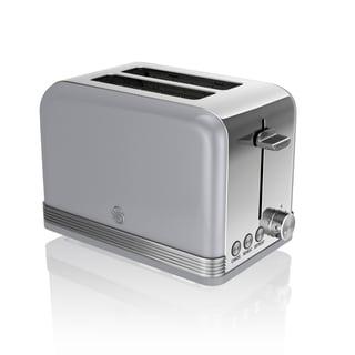 Retro 2 Slice Toaster Grey