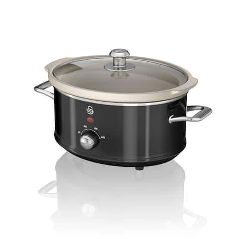 Slow Cooker 3.5L Black