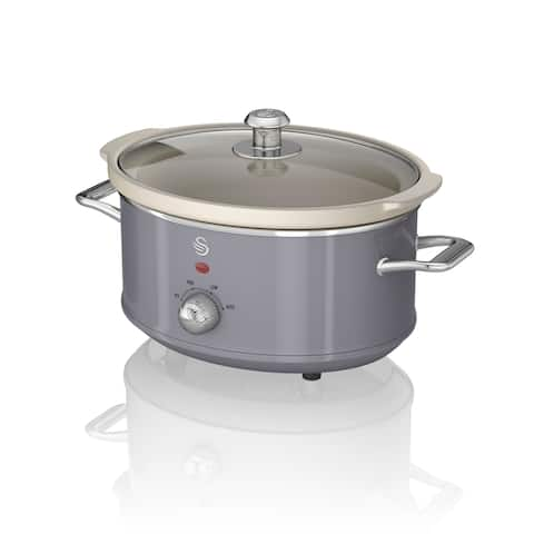 Slow Cooker 3.5L Grey