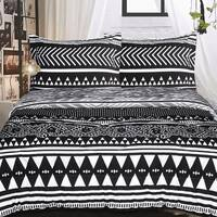 Tribal Reversable 3 Piece Comforter Set