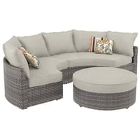 Spring Dew 3-Piece Outdoor Sectional Set