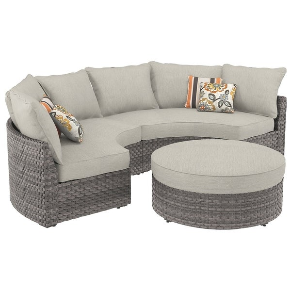 Spring Dew 3 Piece Outdoor Sectional Set On Free Shipping Today 27066582