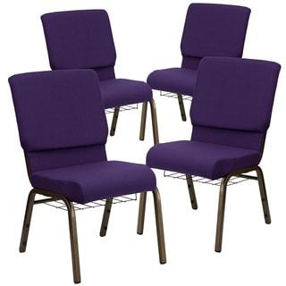 18.5''W Church Chair-Book Rack