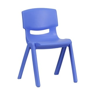 """Plastic Stackable School Chair with 13.25"""" Seat Height"""