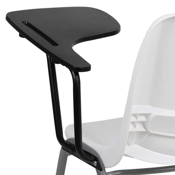 Chair With Left Handed Flip Up Tablet