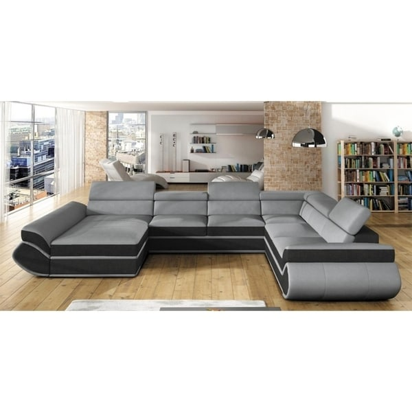 Shop GINESS Maxi Sectional Sleeper Sofa - On Sale - Free Shipping ...