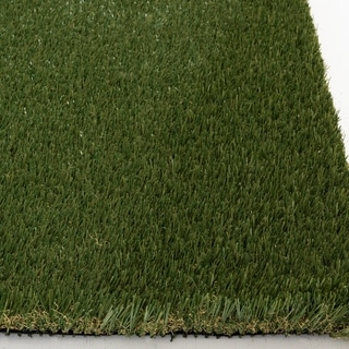 Havenside Home Egegik Plush Artificial Turf - 7'5 x 9'