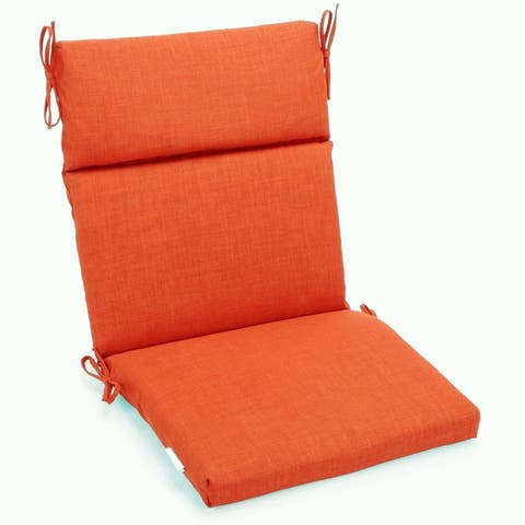 Blazing Needles 3-Section Indoor/Outdoor Chair Cushion