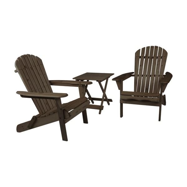 Adirondack Coffee Table Set: Shop Adirondack Chair Set With Table