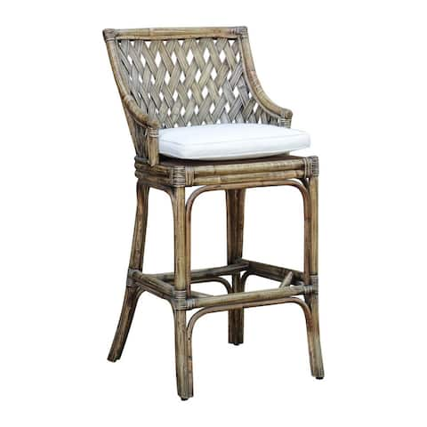 Panama Jack Old Havana Barstool with Cushion