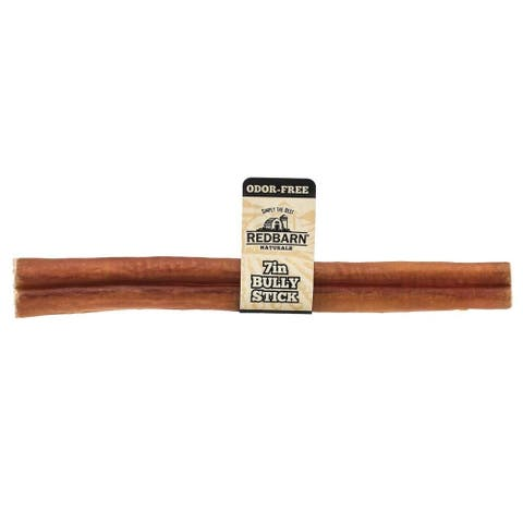 "REDBARN Odor Free Bully Stick 7"" (Case of 35)"