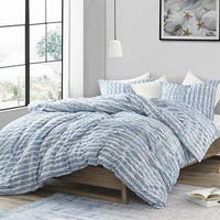 Porch & Den Alton Aura Blue Super soft Microfiber Oversized Comforter Set