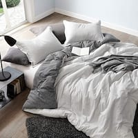Contrarian - Black and White - Oversized Comforter - 100% Cotton Bedding