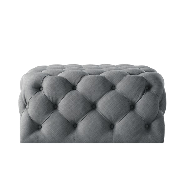 Astonishing Shop Silver Orchid Holm Square Cocktail Ottoman On Sale Short Links Chair Design For Home Short Linksinfo