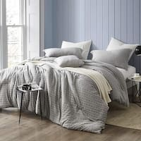 Highlands Gray - Oversized Comforter - 100% Yarn Dyed Cotton Bedding