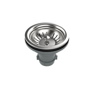 """Swiss Madison 4.5"""" Slotted Stainless Steel Drain"""