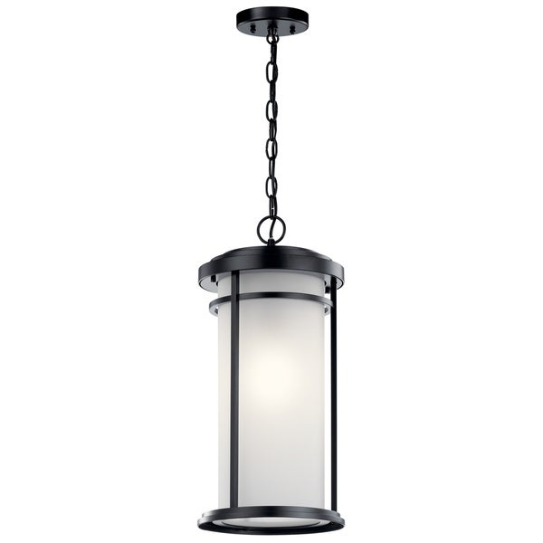 4ad01938479 Shop Kichler Toman 1-light Black Outdoor Pendant - Free Shipping Today -  Overstock - 27070396