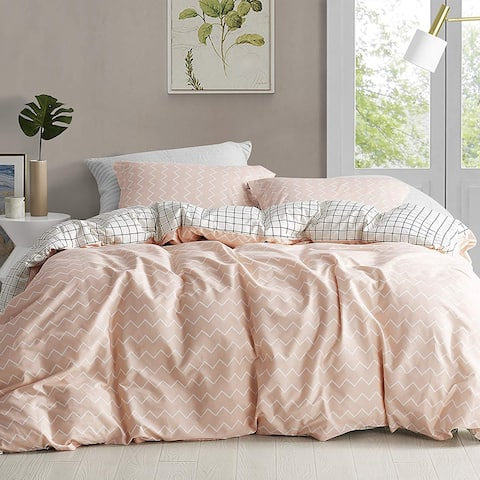 Just Peachy - Oversized Duvet Cover - 100% Cotton Bedding