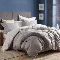 Gingham Gray - Oversized Duvet Cover - 100% Cotton Bedding